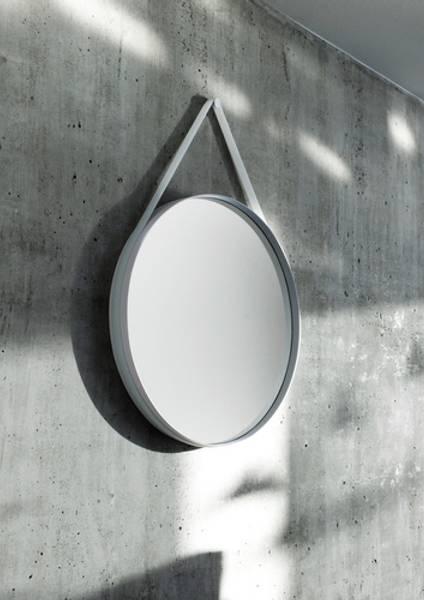 Strap Mirror Grey 50 cm HAY