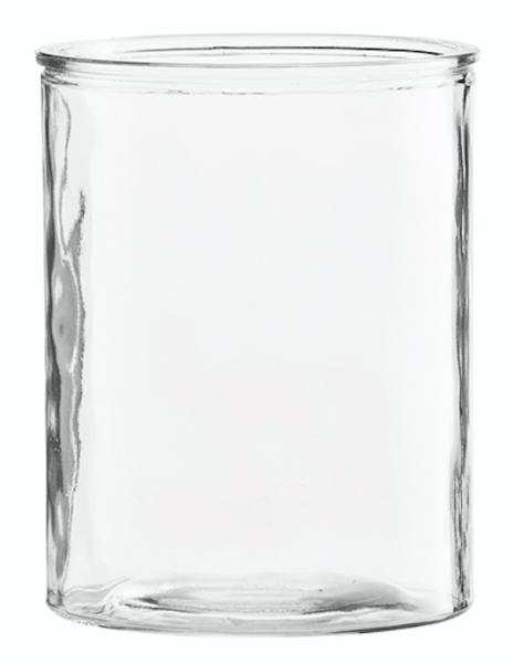 Vase Cylinder Glass 15 cm.