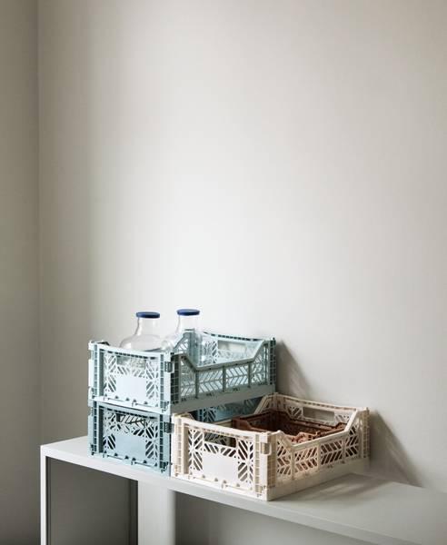 Colour Crate Foldekasse M Light Grey