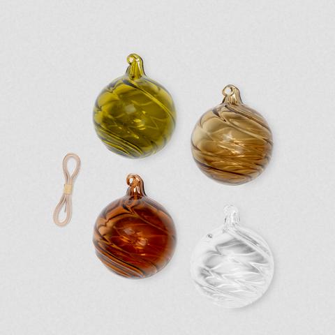 Bilde av Twirl Ornaments - M - Set of